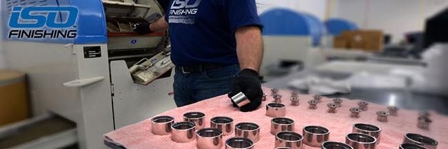 ISO Finishing Saving Time Manufacturing